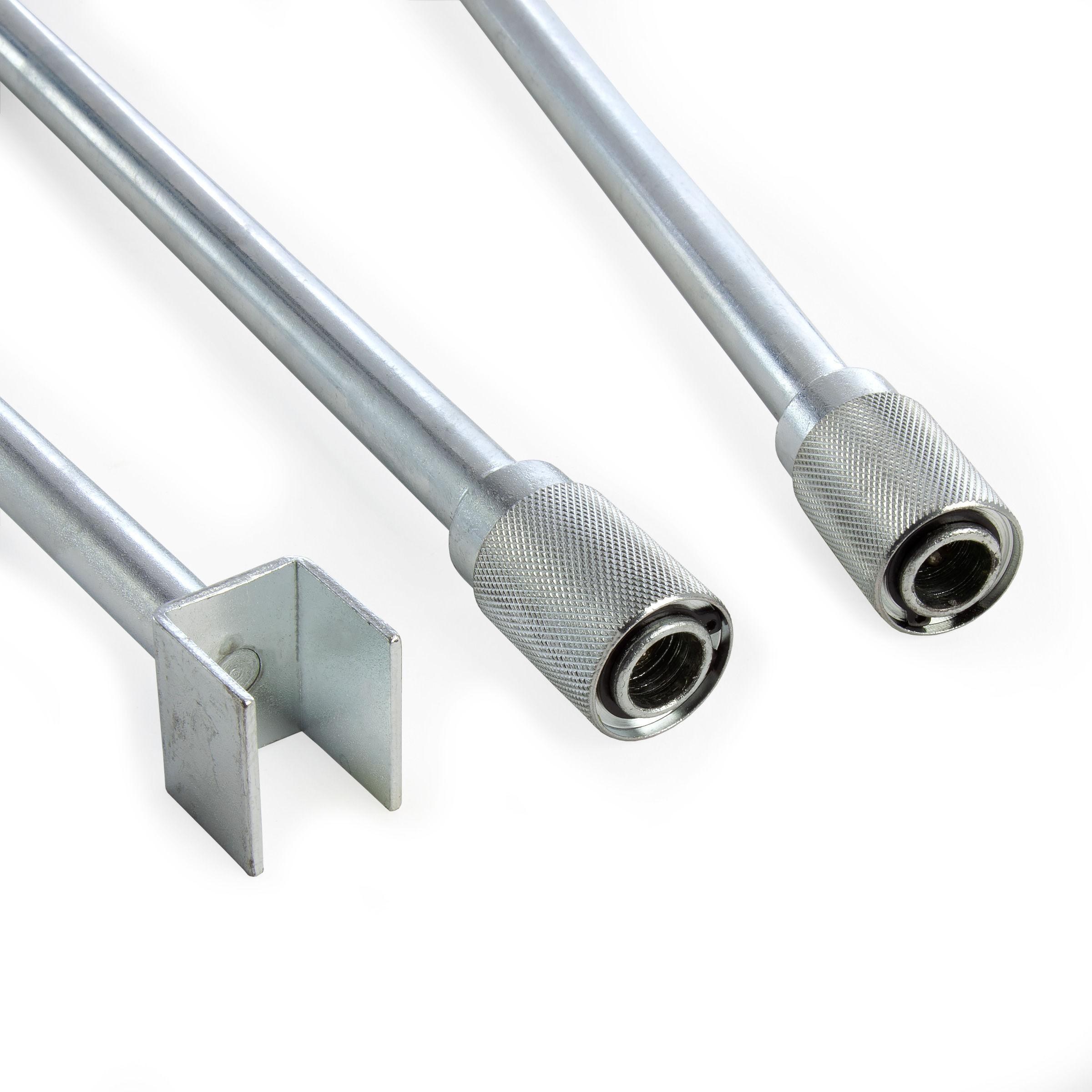 Metex KEY001 UNIKEY Universal Manhole Cover Lifting Key Kit