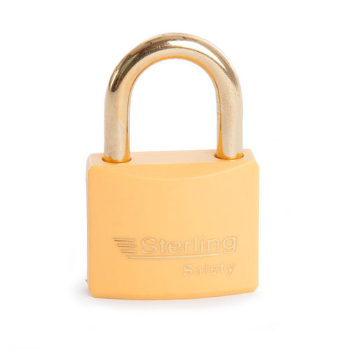 Sterling BL4O Safety Lockout Padlocks 40mm Double Locking KA6 Orange