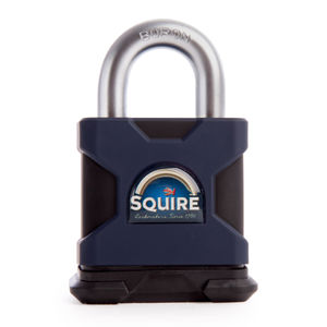 Henry Squire SS50S Stronghold 50mm Solid Steel Padlock Open Shackle