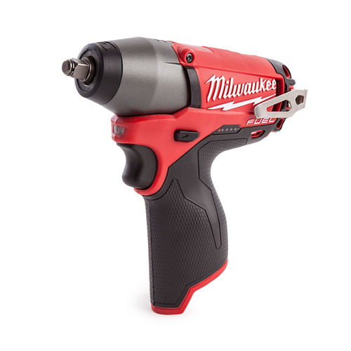 """Milwaukee M12CIW38-0 M12 Fuel Compact Impact Wrench 3/8"""" Reception (Body Only)"""