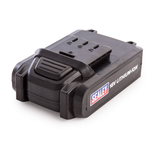 Sealey CPNG18BP Power Tool Battery 18v 2ah Lithium-ion for CPNG18 Nail / Staple Gun