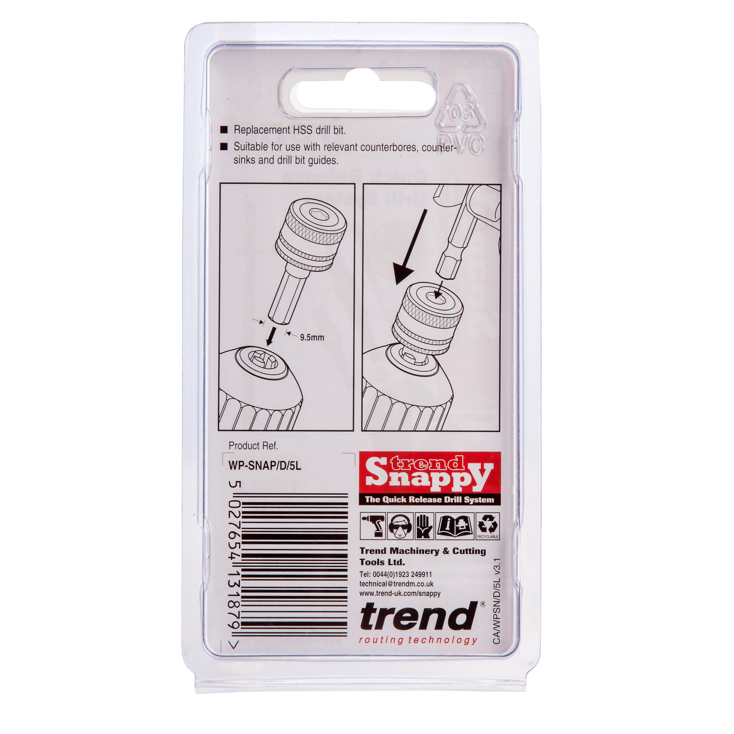Trend Wp Snap D 5l Sny 5 64 Inch 2 0