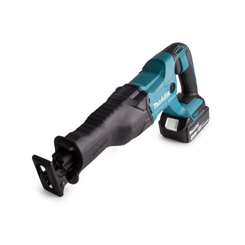 Makita DJR186RME 18V LXT Reciprocating Saw (2 x 4.0Ah Batteries)