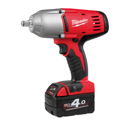 Milwaukee HD18HIWF-402C M18 Impact Wrench with Friction Ring 1/2in Drive (2 x 4.0Ah Batteries)