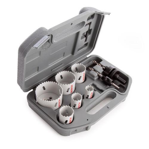 Bosch 2608580804 HSS Electricians Holesaw Set (9 Piece)
