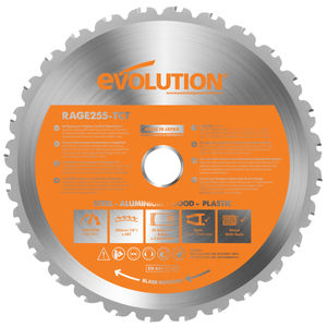 Evolution B255 TCT Sawblade 255mm 28 Teeth