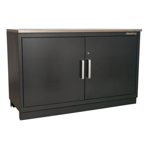 Sealey APMS02 Modular Floor Cabinet 2 Door 1550mm Heavy-Duty