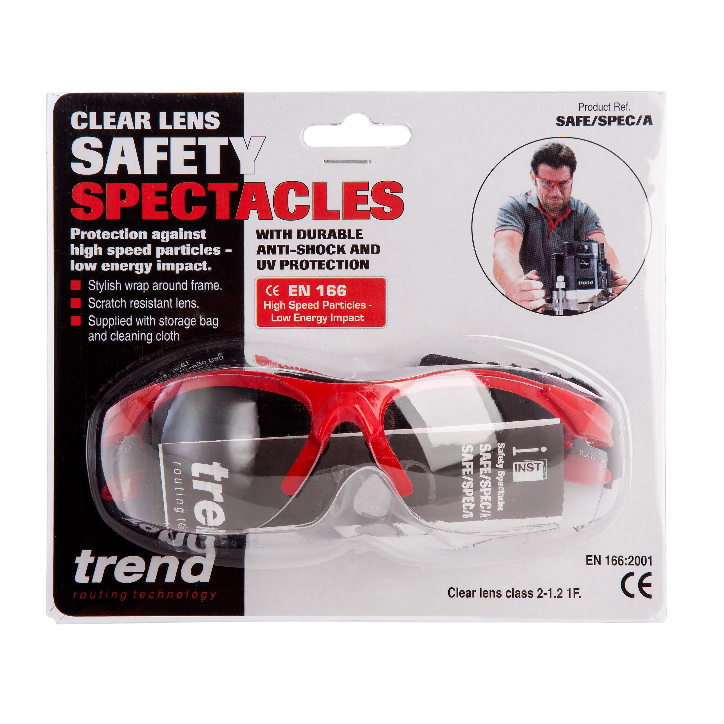 Trend SAFE//SPEC//A SAFETY SPECTACLE EN166 CLEAR LENS