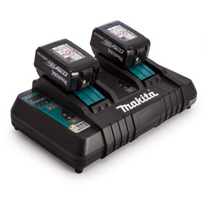 Makita BL1840B 18V Battery Twinpack + DC18RD Twin Charger