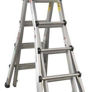 Sealey AFPL3 Aluminium Telescopic Ladder 4-way En 131 Adjustable Height