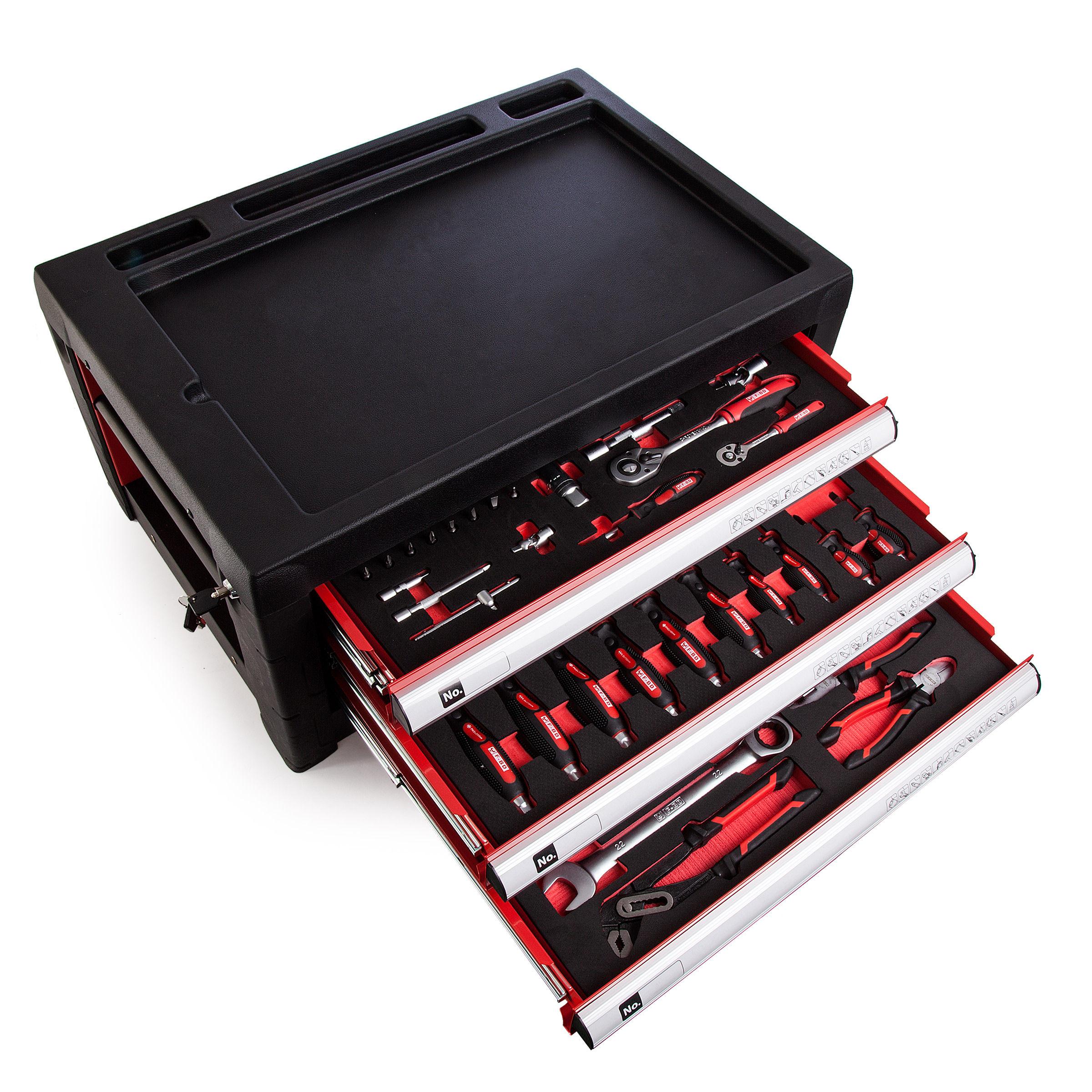 Toolstop Toolstop TT326 Tool Trolley with Telescopic