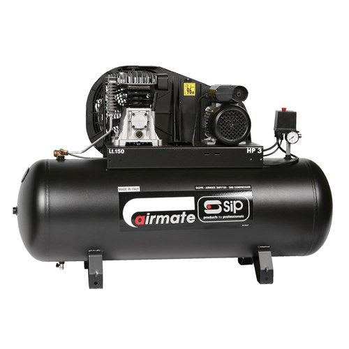 SIP 06290 3HP/150-SRB Air Compressor