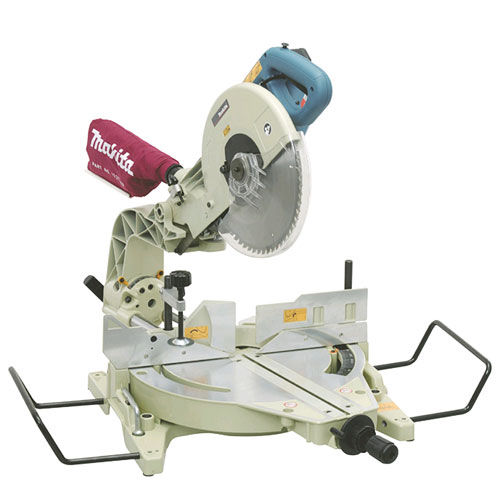 Makita LS1214X 240V 305mm Dual Slide Compound Mitre Saw with Table