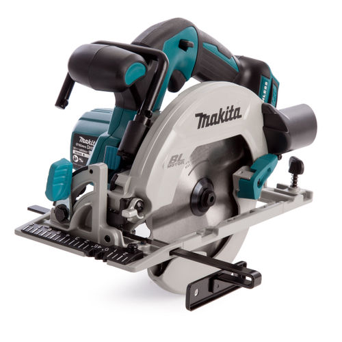 Makita DHS680 18V Circular Saw 165mm with DC18RC Charger in Makpac Case (2 x 3.0Ah Batteries)