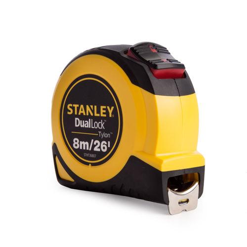 Stanley STHT36807-0 Tylon Dual Lock Tape Measure 8m / 26ft