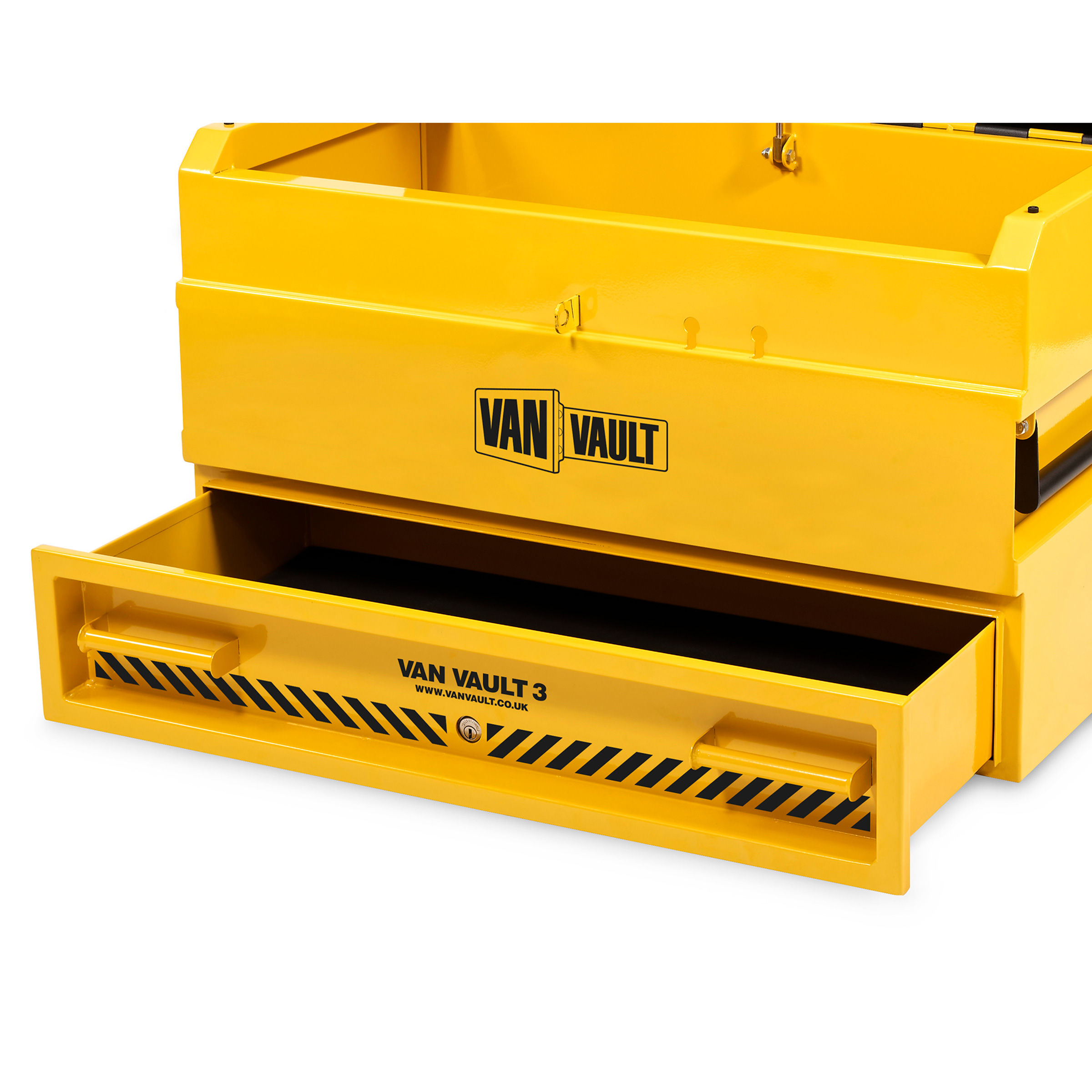 2cb53dcc95a396 Van Vault 3 Site High Security Steel Storage Box S10345 (922 x 566 x 490mm