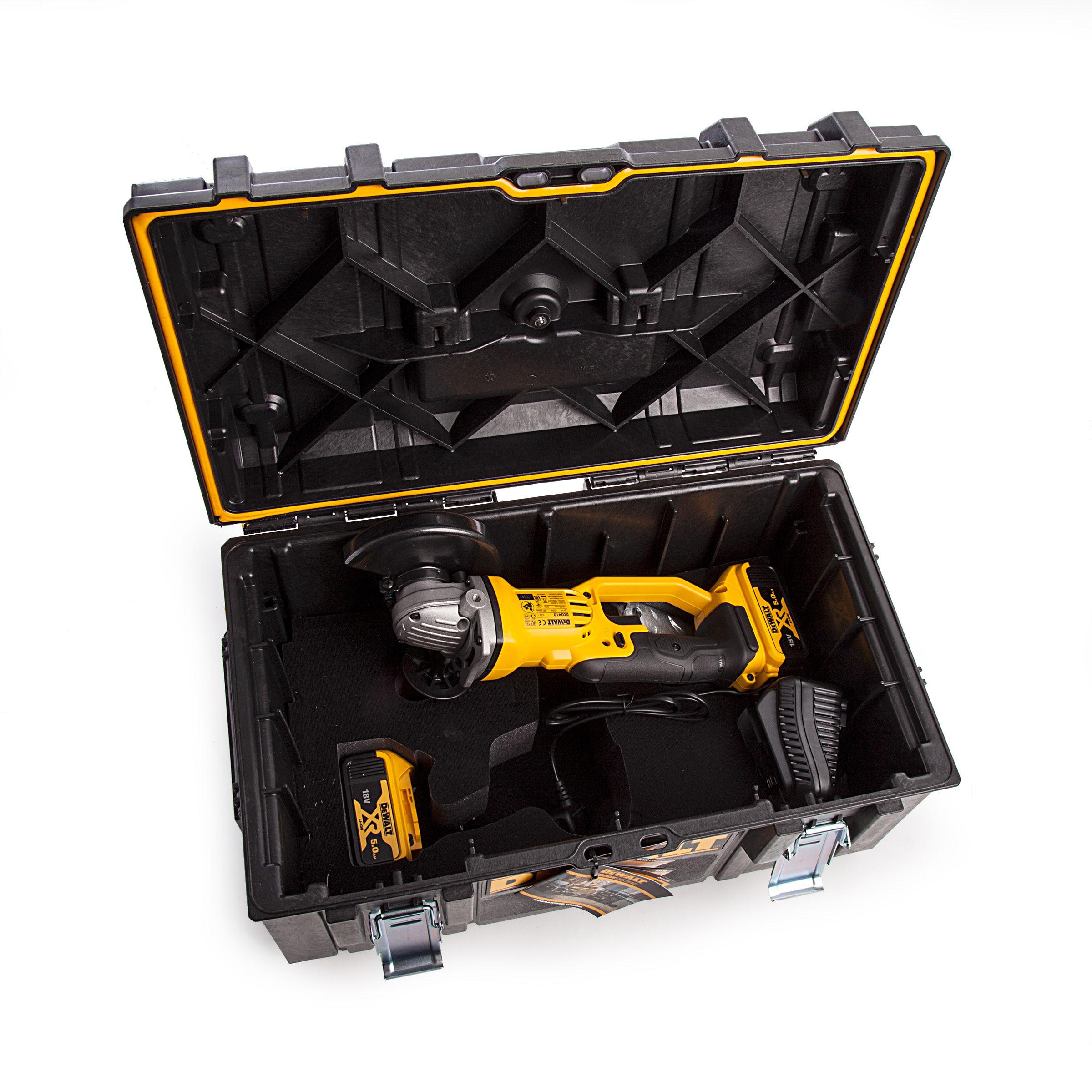 Dewalt DCG405N 18V XR Brushless Angle Grinder 125mm 1 x 5Ah Battery /& Charger