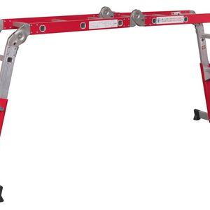 Sealey AFPL2 Aluminium Multipurpose Ladder En 131 Adjustable Height