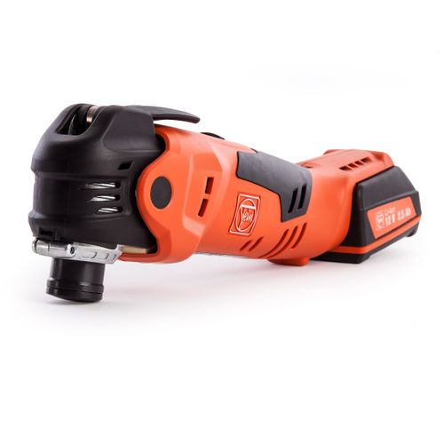 Fein AFMT 12 Q Oscillating Multitool 12V li-ion Cordless MultiTalent with QuickIN and Accessories