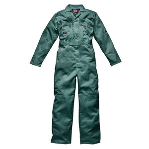 Dickies WD4839 Front Zip Redhawk Coverall - Lincoln Green