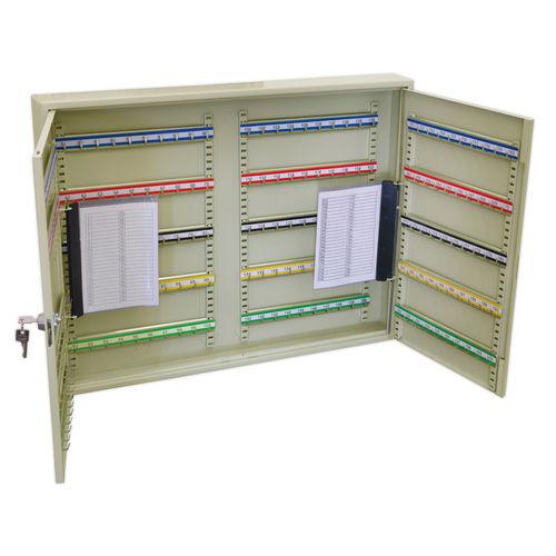 Sealey SKC200W Key Cabinet 200 Key Capacity Wide
