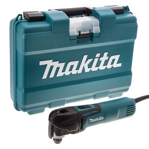 Makita TM3010CK Oscillating Multi-Tool 320W with Tool-Less Accessory Change