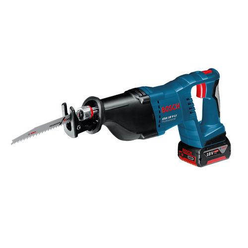 Bosch GSA 18V-Li Professional Reciprocating Saw (2 x 5.0Ah Batteries)