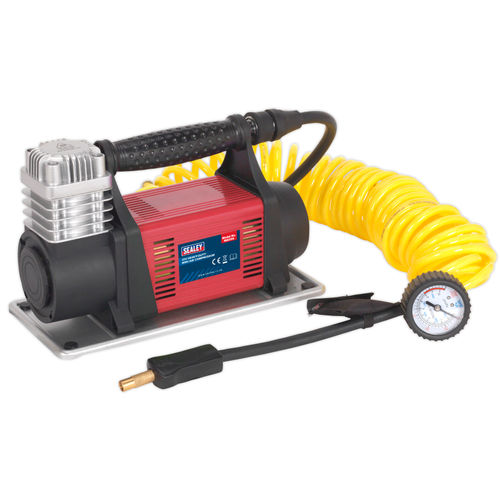 Sealey MAC06 Heavy-Duty Mini Air Compressor 12V