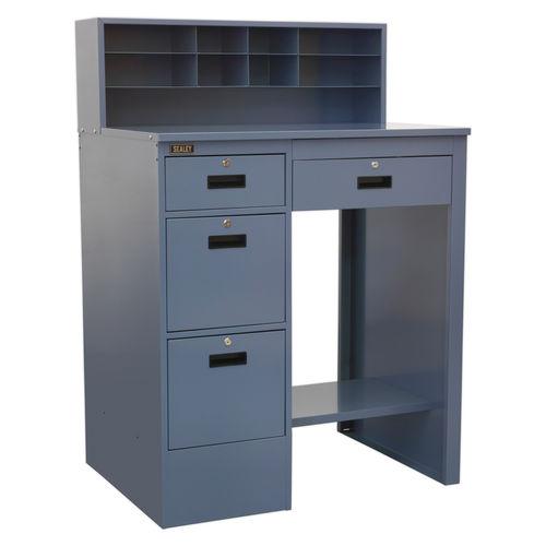 Sealey AP990 Industrial Workstation 4 Drawer (Grey)