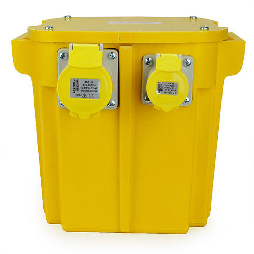 5KVA Triple Outlet (2 x 16 Amp, 1 x 32 Amp) Site Transformer 240V - 110V