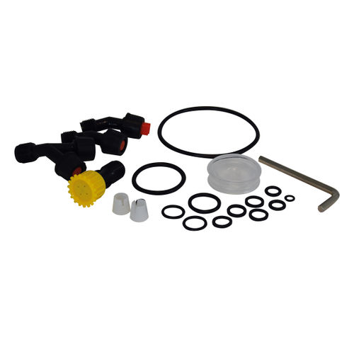 Spear & Jackson 15LPAPSKIT O Ring Seals & Spare Nozzles Kit For 15 Litre Backpack Style Pump Action Pressure Sprayer (19 Piece)