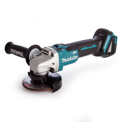 Makita DGA456ZX1 Angle Grinder 18V Cordless Brushless 115mm (Body Only)