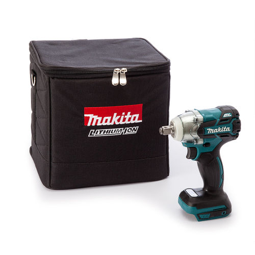 Makita DTW281Z 18V Cordless li-ion Impact Wrench (Body Only) in Black Cube Bag