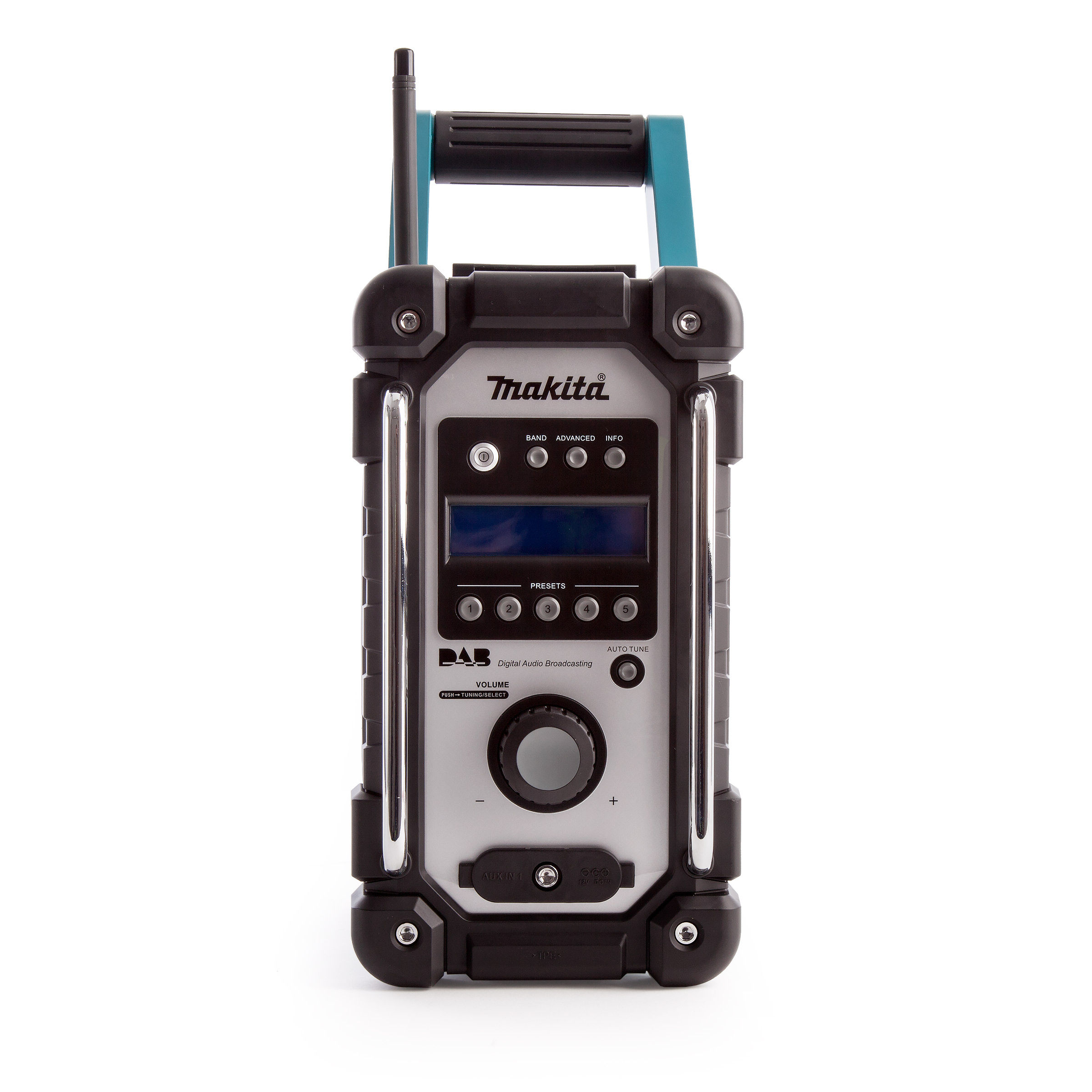 toolstop makita dmr104 job site radio stereo with dab and. Black Bedroom Furniture Sets. Home Design Ideas