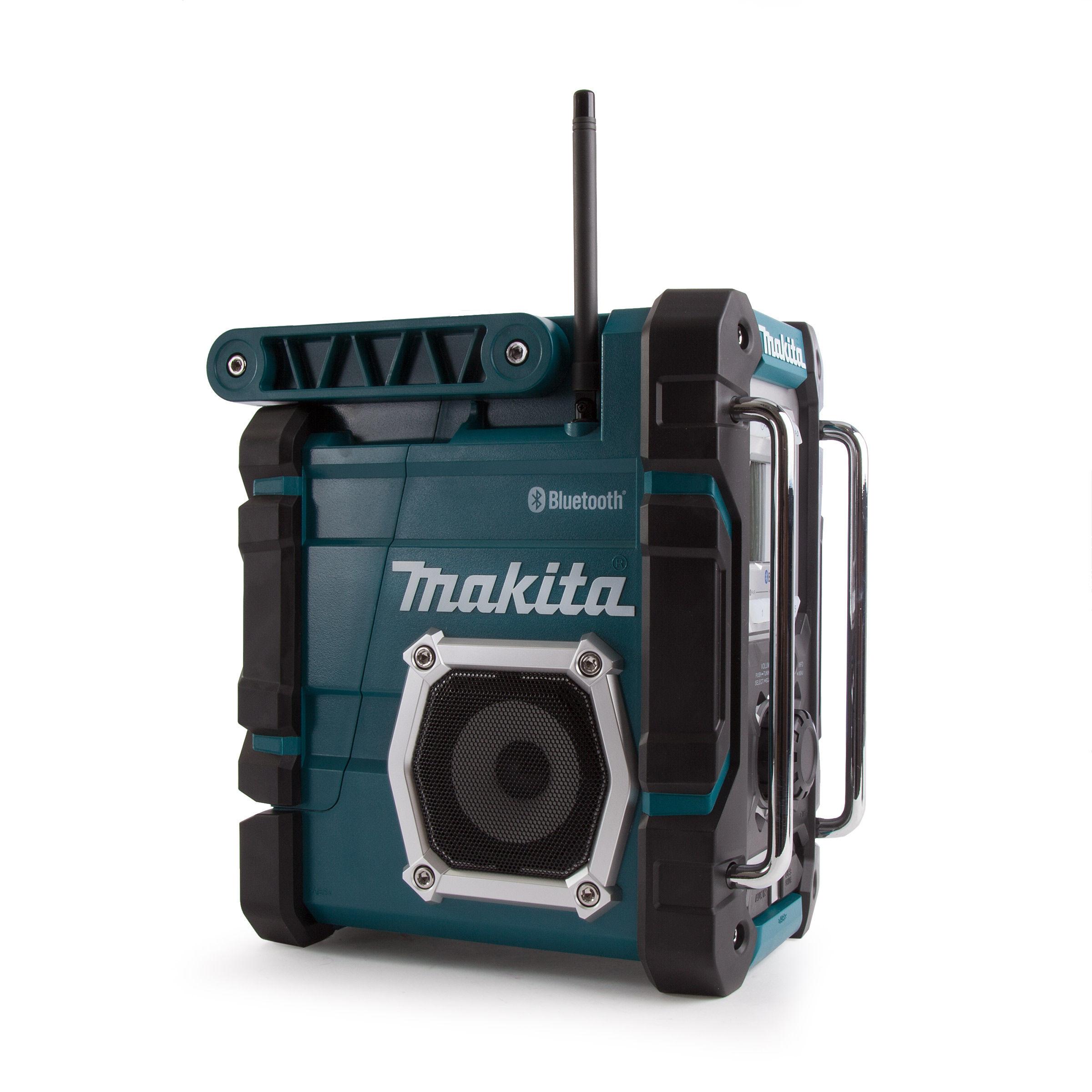 toolstop makita dmr108 jobsite radio with bluetooth. Black Bedroom Furniture Sets. Home Design Ideas