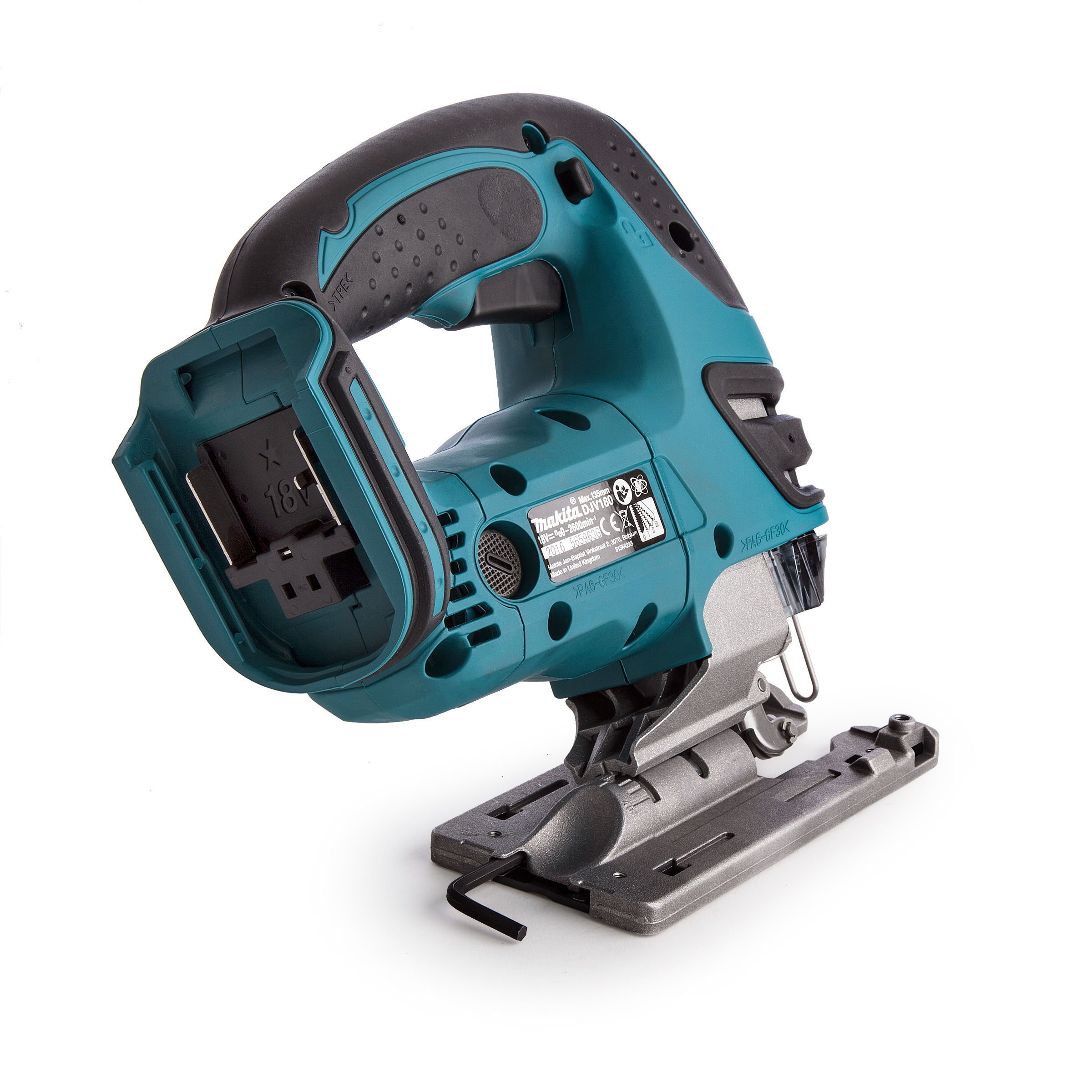 Toolstop Makita Djv180z 18v Cordless Jigsaw Body Only