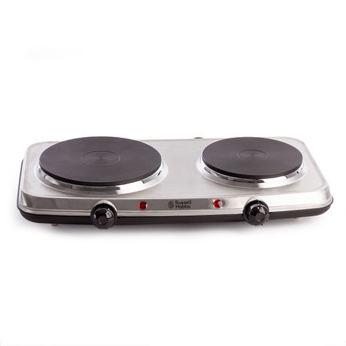 Russell Hobbs 15199 Stainless Steel Electric Mini Hob