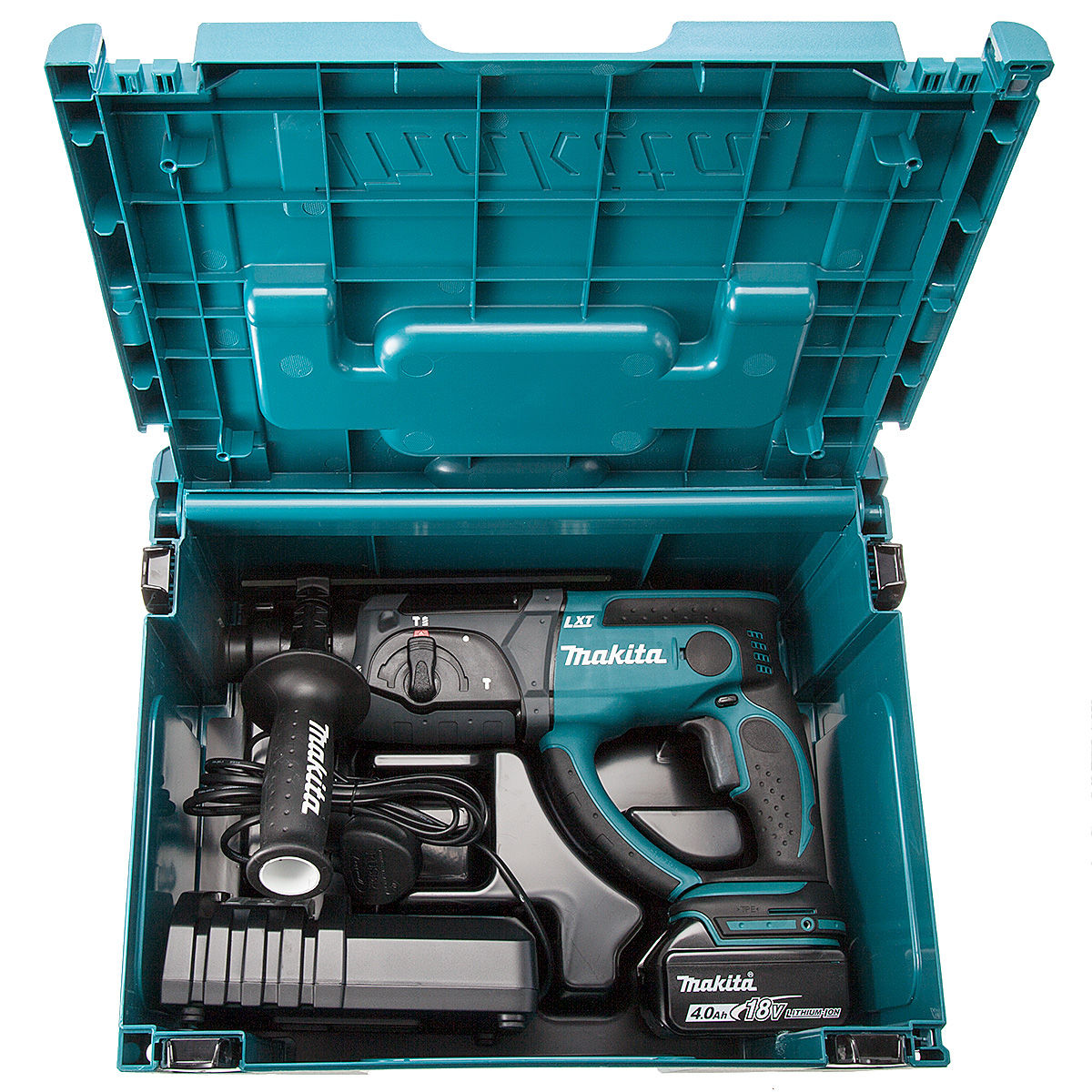 toolstop makita dhr202rm1j 18v cordless li ion sds rotary. Black Bedroom Furniture Sets. Home Design Ideas