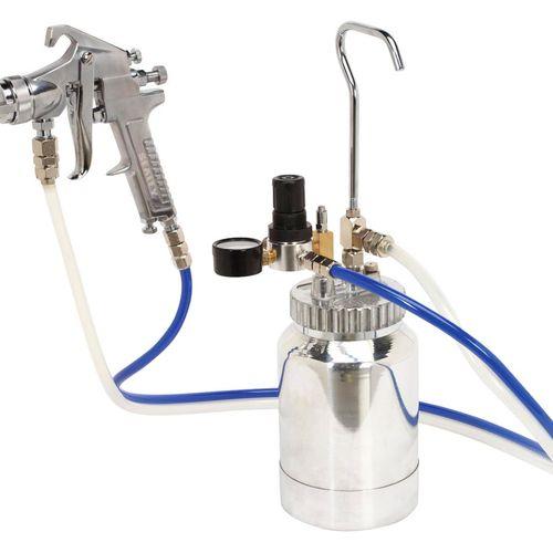 Sealey SSG1P Pressure Pot System With Spray Gun & Hoses 1.8mm Set-up