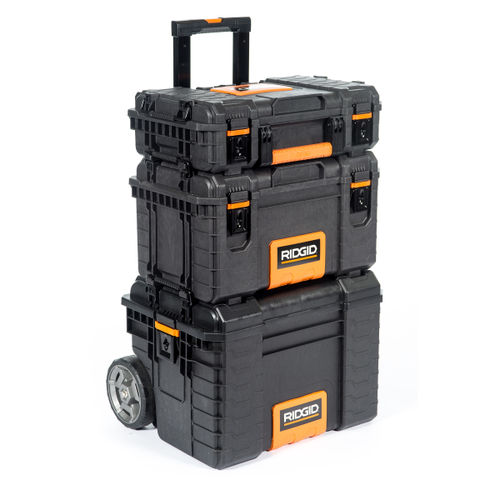 Ridgid 54358 Toolbox Pro Gear System - 106.5 Litre Capacity