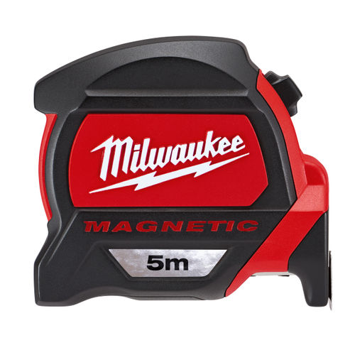 Milwaukee 48227305 Premium Magnetic Tape Measure 5m Metric