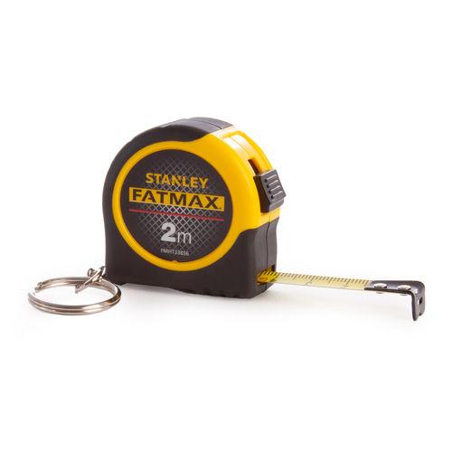 Stanley FMHT1-33856 FatMax 2M Measuring Tape Keychain