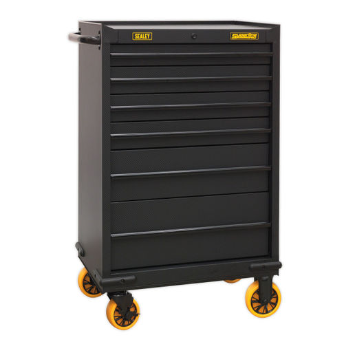 Sealey AP2606CF Rollcab 6 Drawer With Ball Bearing Slides - Carbon Fibre Effect Limited Edition