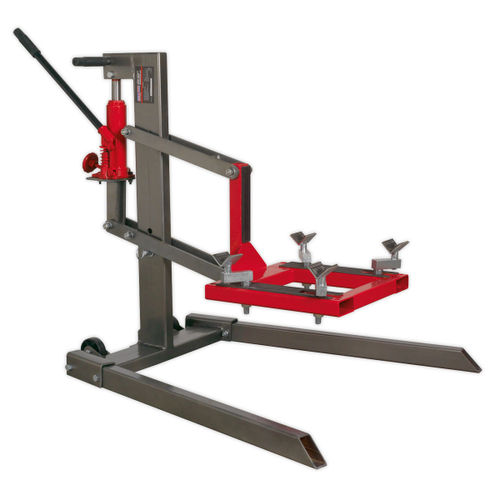 Sealey MCL500 Single Post Motorcycle Lift 450kg Capacity