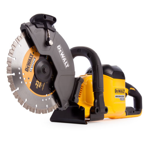 Dewalt DCS690X2 XR Flexvolt 54V Cut Off Saw 230mm (2 x 9.0Ah Batteries)