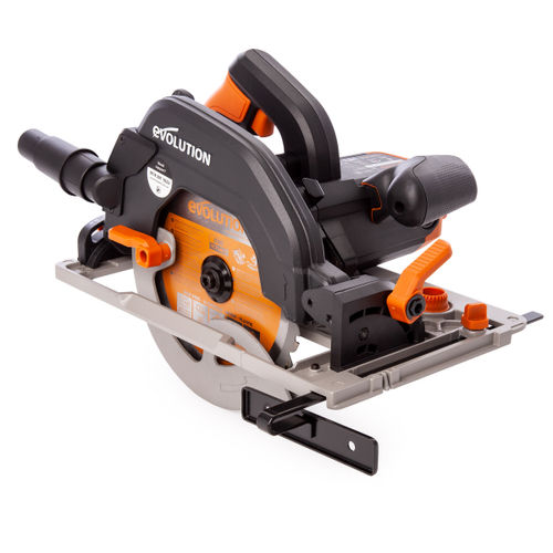 Evolution R185CCSX+ TCT Multi-Material Circular Saw 185mm 110V