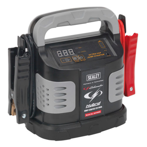 Sealey SHY900S Hybrid Ultra Capacitor Jump Starter 12V 900A