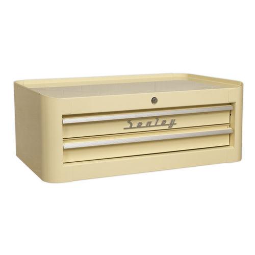 Sealey AP28102 Mid-box 2 Drawer Retro Style