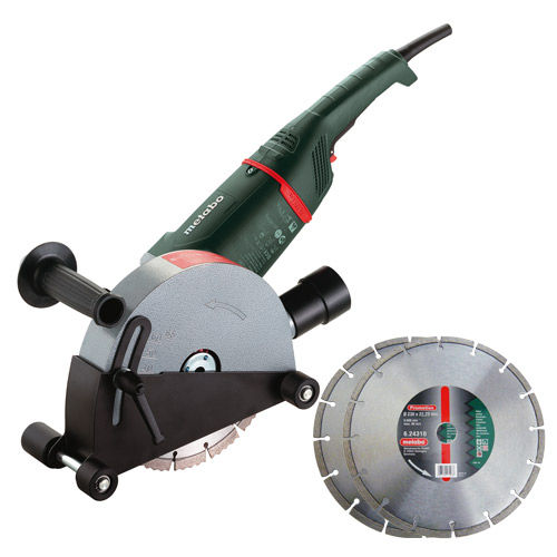 Metabo MFE65 - 2,400W Wall Chaser - Inc 2 x Diamond Blades - 240V