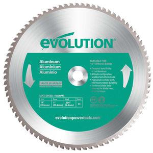 Evolution 14BLADEAL TCT Saw Blade for Aluminium 355mm - 80 Teeth (80TBLADE14)